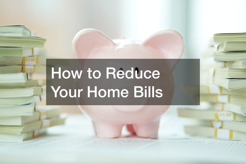 how to reduce bills at home